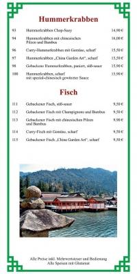 Hummerkrabben - Fisch